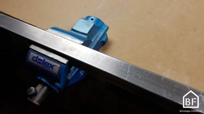 tige de métal à couper