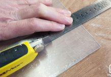 Couper du plexiglas