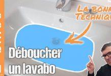 vidéo lavabo bouché