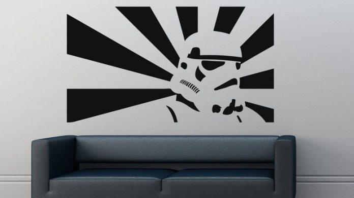 Déco Star Wars en peinture