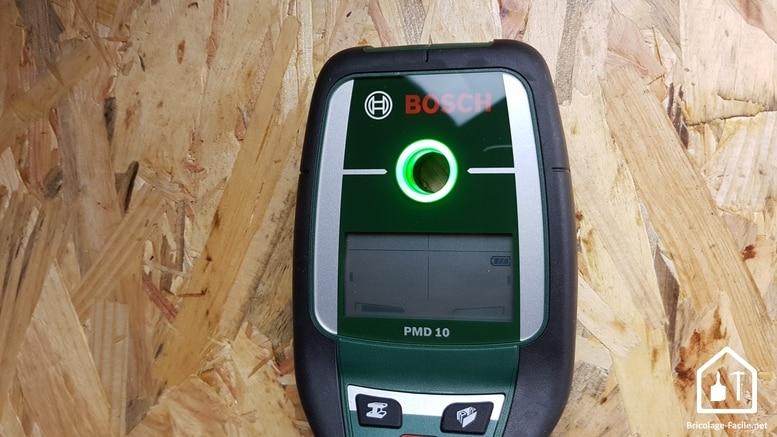 Détecteur PMD 10 de Bosch - lumière verte
