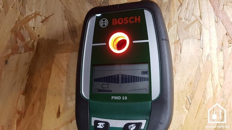 Détecteur PMD 10 de Bosch - lumière rouge