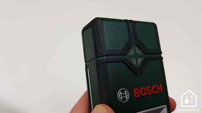 détecteur Truvo de Bosch - caoutchouc au niveau des arrêtes