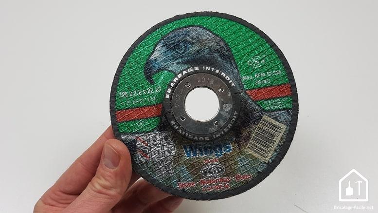 Disques de découpe pour meuleuse SCID - disques bakélites Tous matériaux