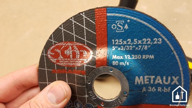 Disques de découpe pour meuleuse SCID - disques bakélites métal