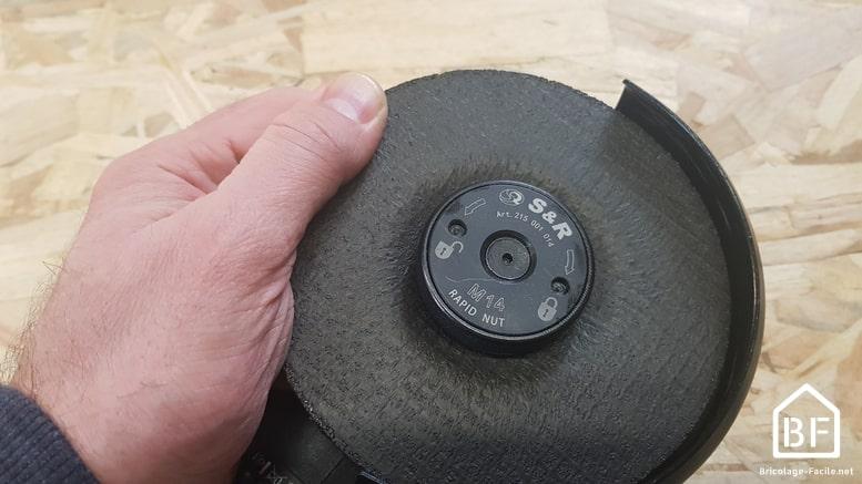 test du serrage du disque