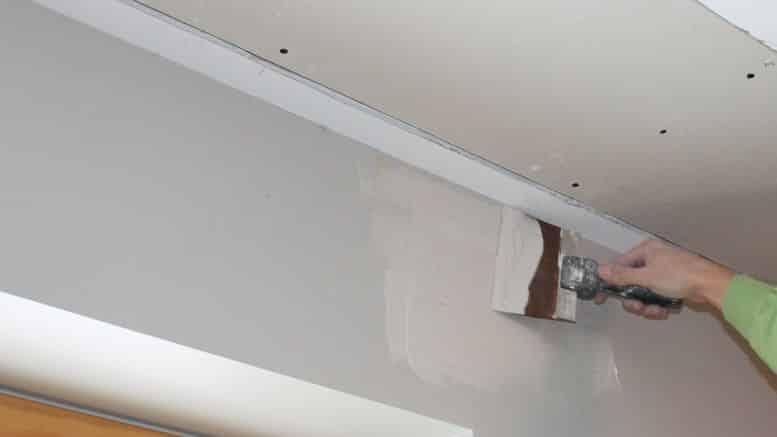 Enduire un mur en plaque de platre ou ba13 bricolage facile - Decoration mur placo ...