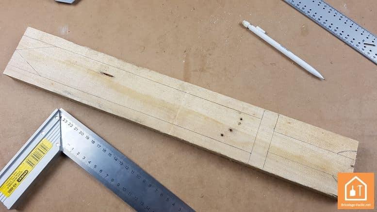 Epée en bois - gabarit
