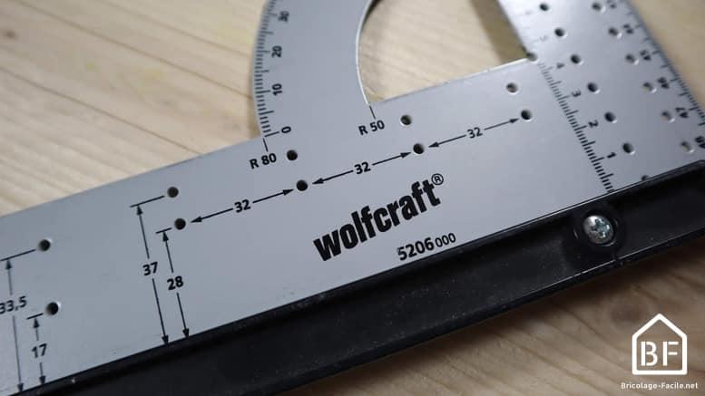équerre de menuisier Wolfcraft