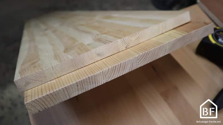 planches de pin