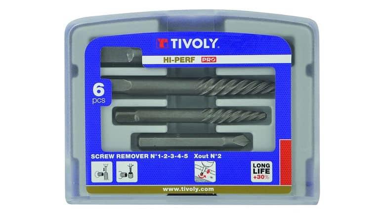 Extracteurs de vis Tivoly