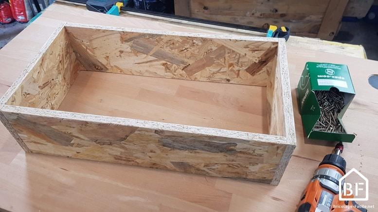 montage des planches d'OSB