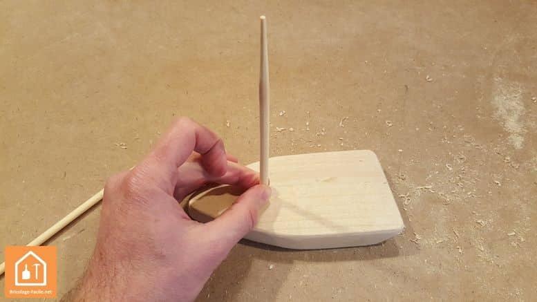 fabriquer un bateau en bois