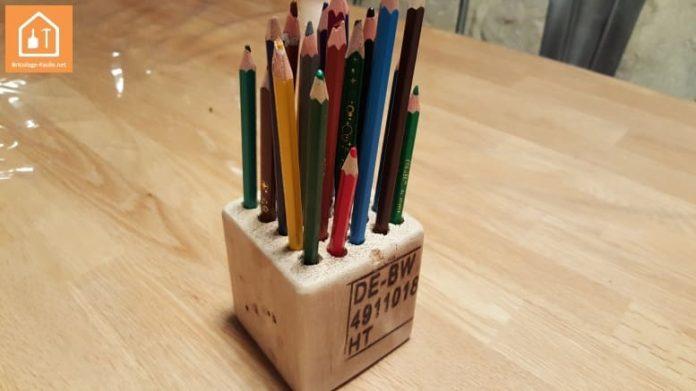 Fabriquer un porte crayon