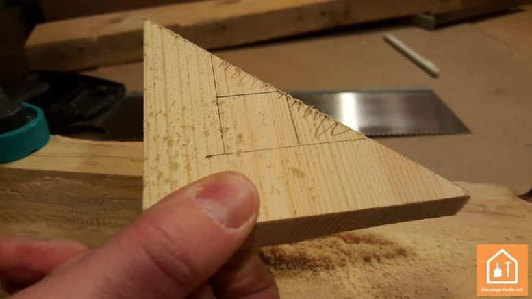 Fabriquer une équerre en bois