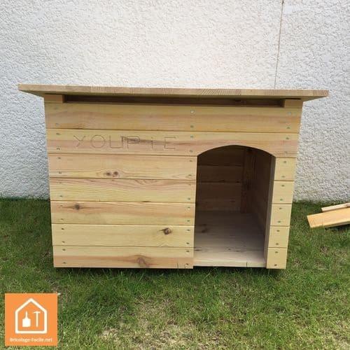fabrication d'une niche pour chien