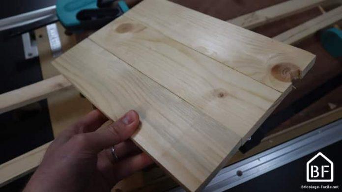 fabriquer une planche de bois