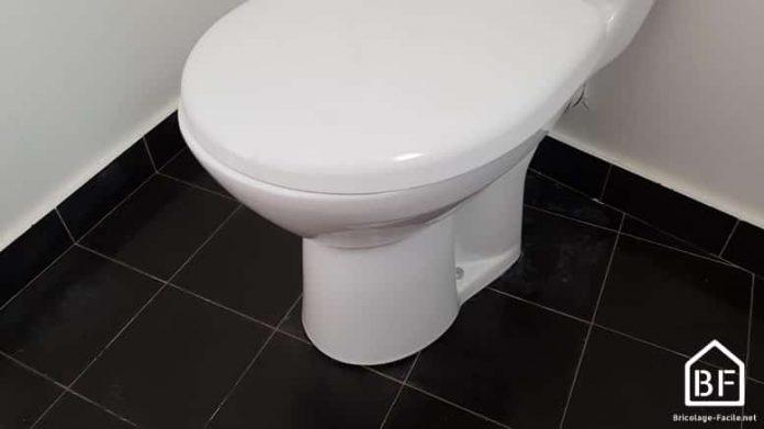cuvette des WC non stable