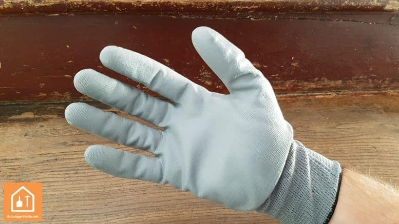 gants de bricolage Rostaing NBRPRO - face enduite