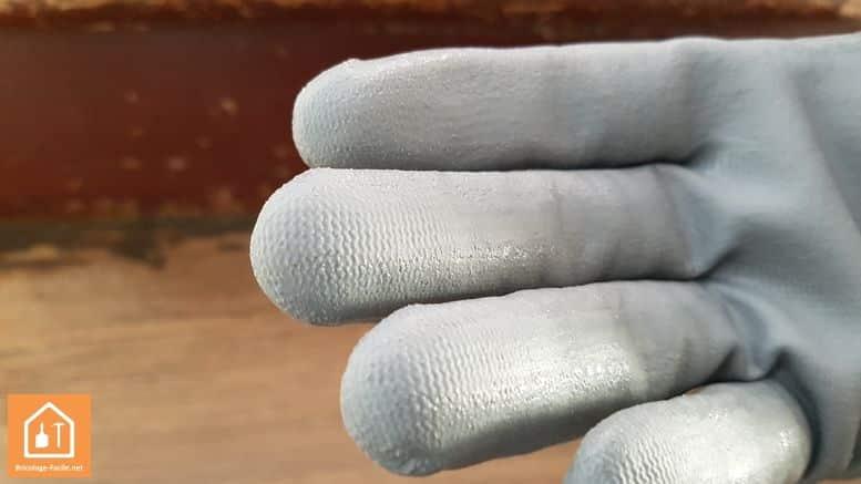 gants de bricolage Rostaing NBRPRO - zoom sur l'enduit