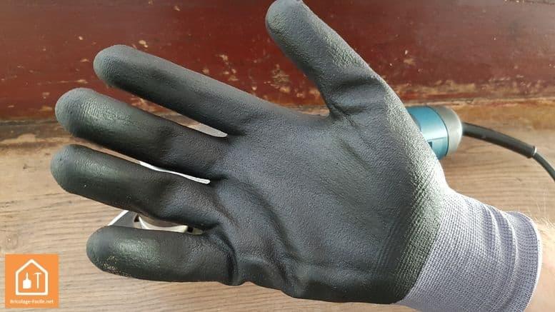 gants de bricolage Rostaing MAXFEEL - paume enduite