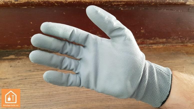 gant de protection pour le bricolage