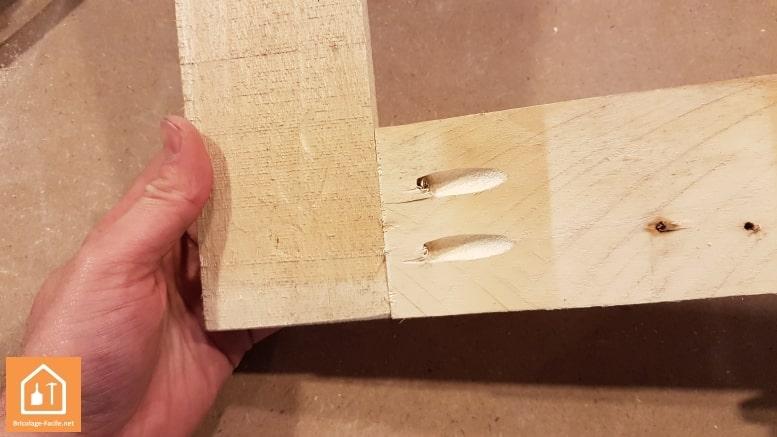 guide de percage undercover jig wolfcraft - pièces de bois fixées