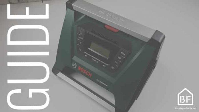 choisir une radio de chantier