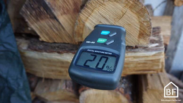 Hygromètre pour bois de Wolfcraft