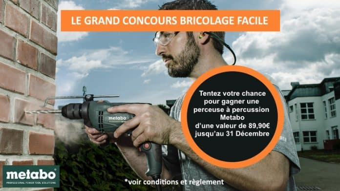 Jeu concours Metabo