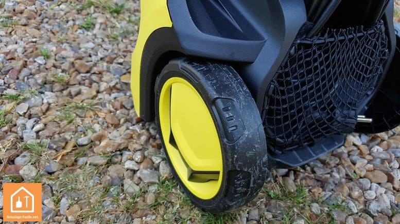 K5 Premium Full Control de Karcher - roues
