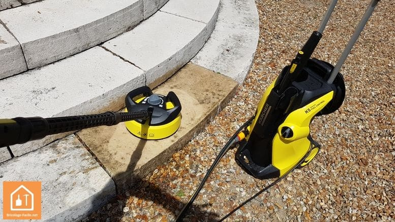 K5 Premium Full Control de Karcher - en action