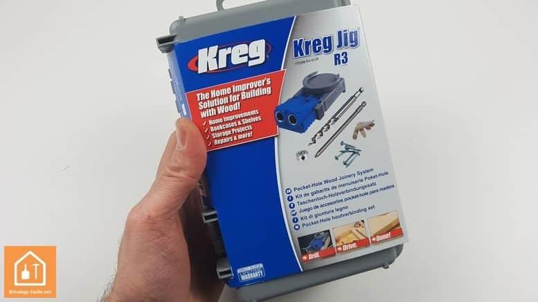 Kit d'assemblage Jig R3 de Kreg - le coffret