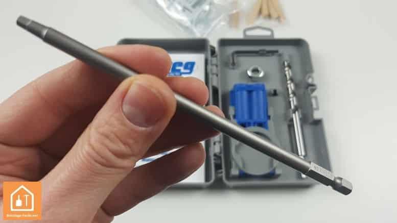 Kit d'assemblage Jig R3 de Kreg - l'embout long de vissage
