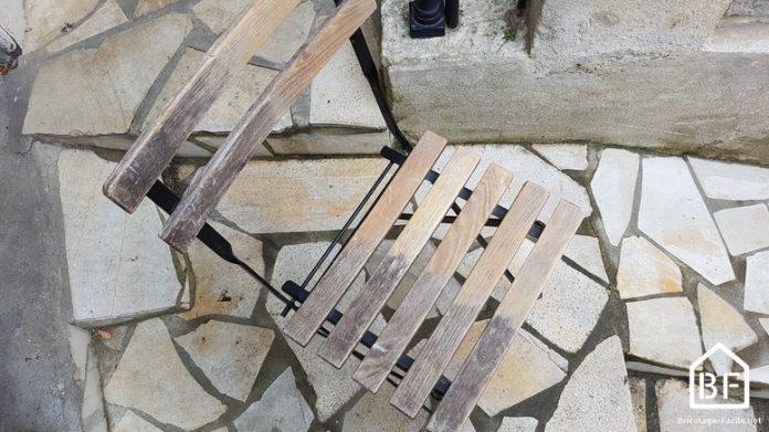 rénovation d'une chaise IKEA