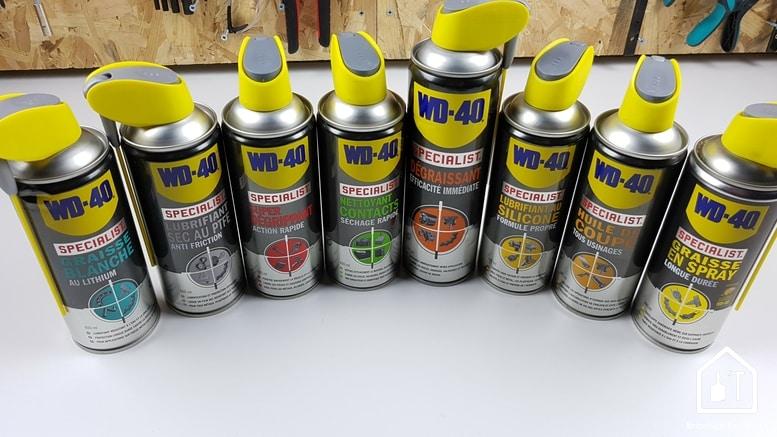 WD40 Specialist - la gamme
