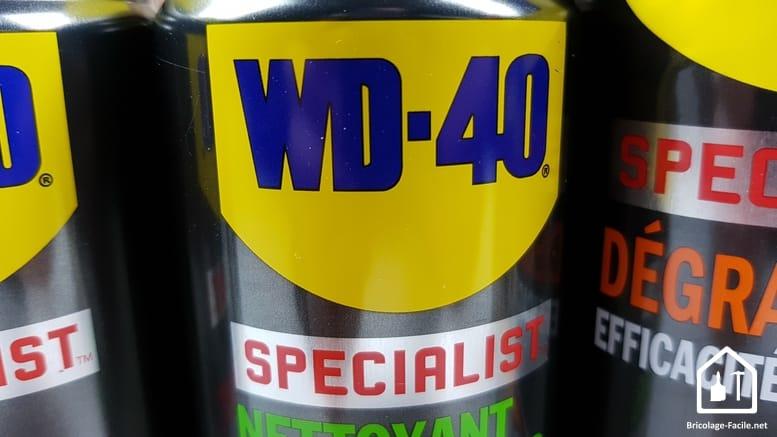 Les lubrifiants specialist WD40
