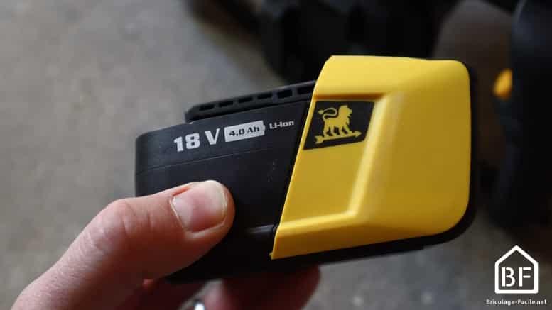 batterie peugeot 18V