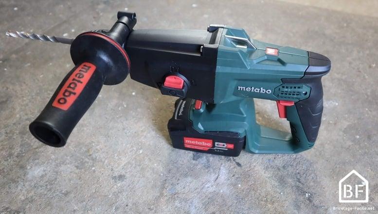 marteau perforateur sans fil kha 18 ltx de Metabo