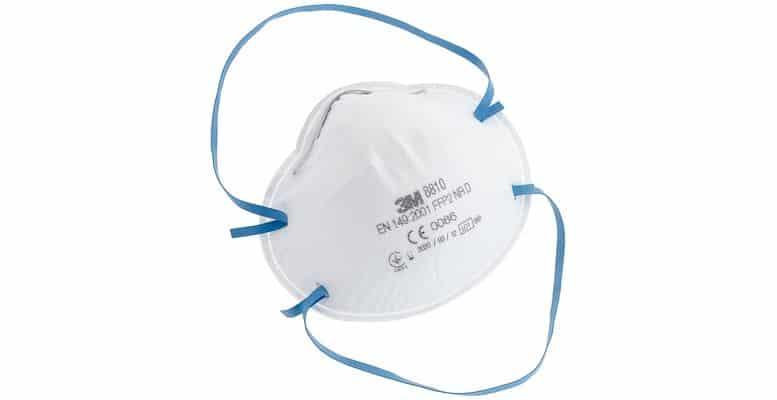 masque anti-poussière FFP2 3M 8810