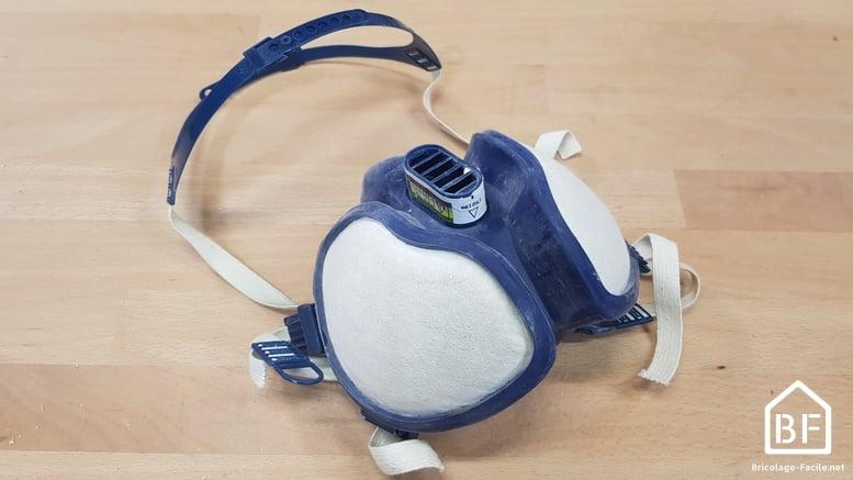 demi-masque réutilisable