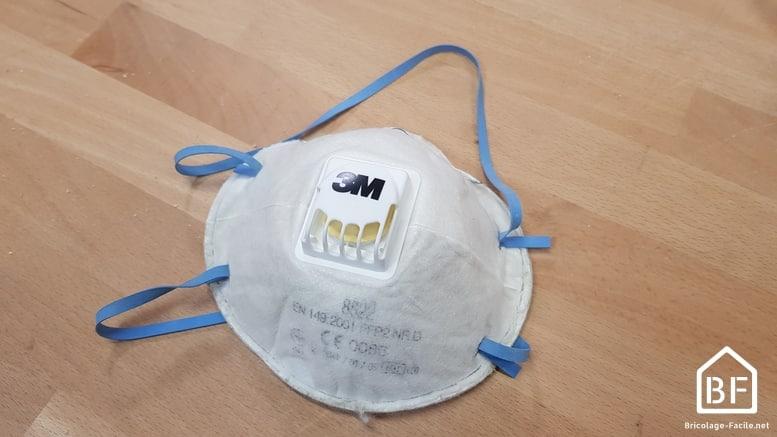 masque respiratoire FFP2 3M avec valve