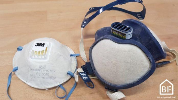 Masques respiratoire pour le bricolage et les travaux