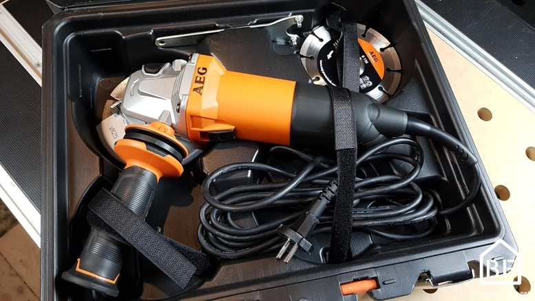 AEG WS 10-125 SK Meuleuse /Électrique /à fil 1000 W