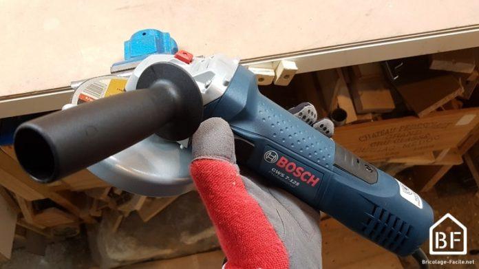 prise en main de la meuleuse 125 Bosch Professional