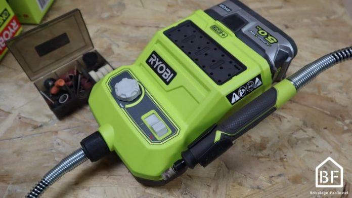 Mini-outil multifonction Ryobi R18RT-0