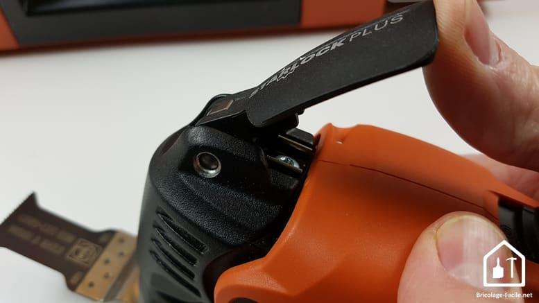 MultiMaster FMM 350 Q de FEIN - libérer l'accessoire