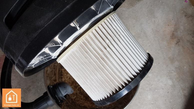 Nettoyer un filtre d'aspirateur