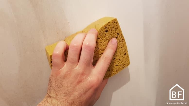 nettoyer un mur