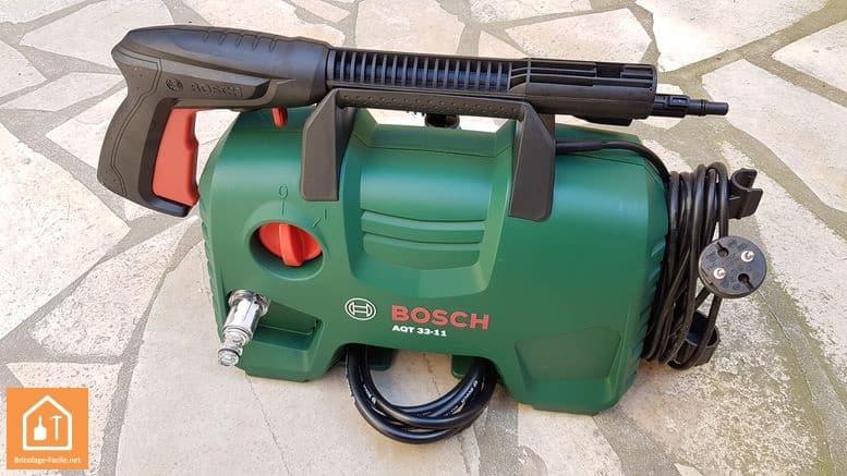 test nettoyeur haute pression aqt 33 11 de bosch bricolage facile